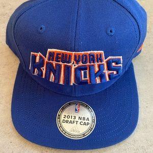 NBA New York Knick's 2013 official draft hat cap
